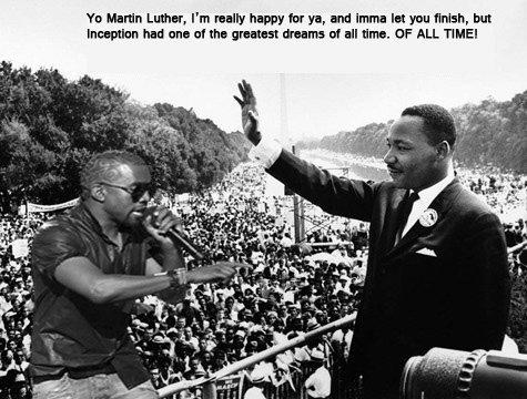 "Kanye. Imma let you finish.... Tu Harlin Lamar, I' m wally happy fur ya, and Inna In you finish, but Wrs' iil"" uli', had an at In suntan! tum: of all llama. if  The Game"