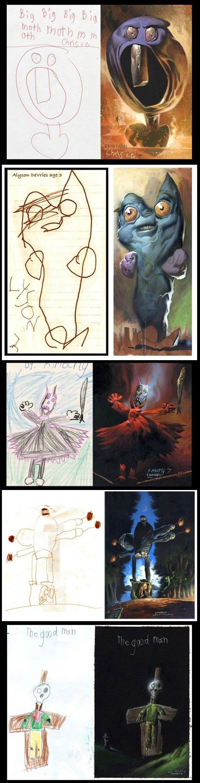Kids realistic drawings. . Kids realistic drawings