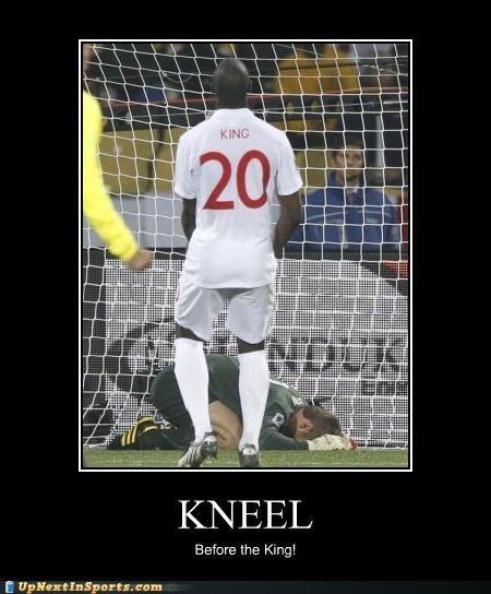 Kneel. . the King! if trots. etta kneel before the king