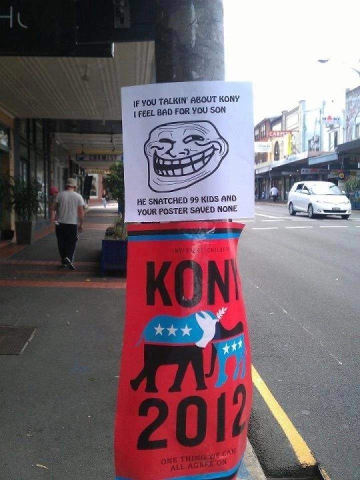 Kony Problems. doo doo.. I love this Kony fucktits