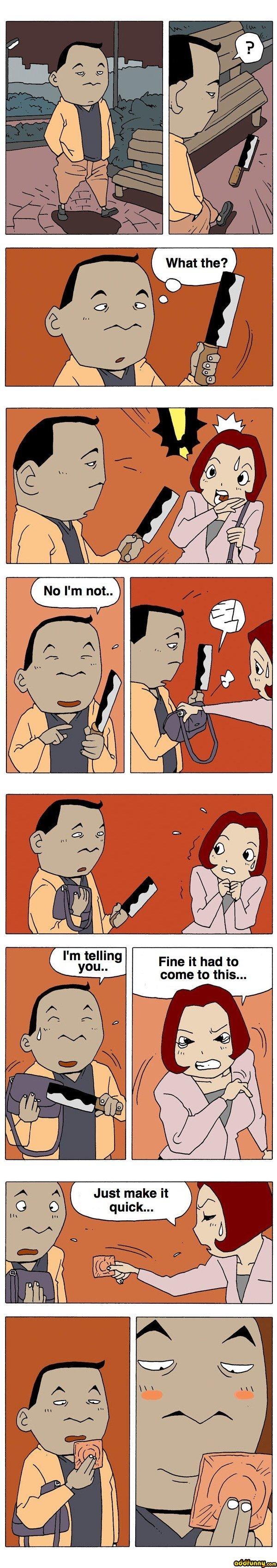 Korean Comic. Not mine, but funny. Korean Comic Not mine but funny