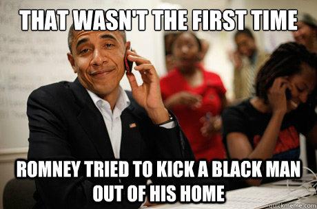 Obama ain't even rustled. . JetTripleSeven