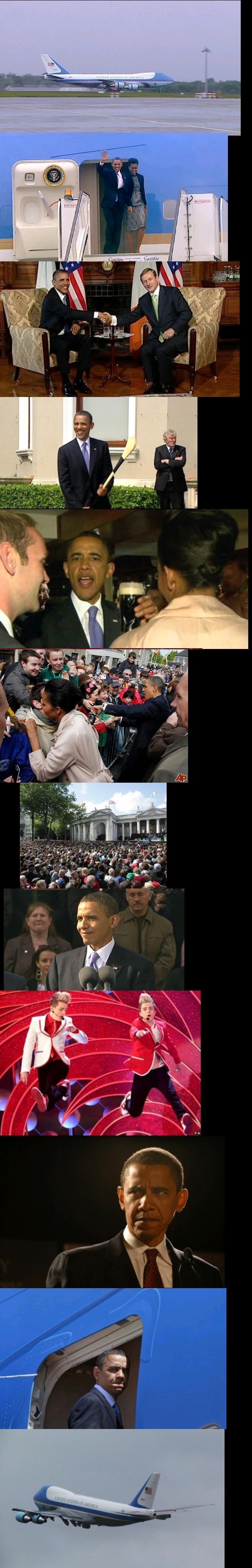 Obama Goes to Ireland -Reup. . Obama Goes to Ireland -Reup