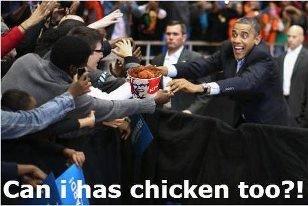 Obama. . Chicken