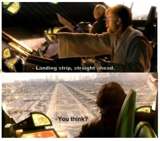 Obi Wan knows his shit. Bam! OC. star wars