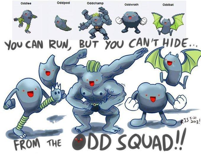 Odd Squad. . Pokemon