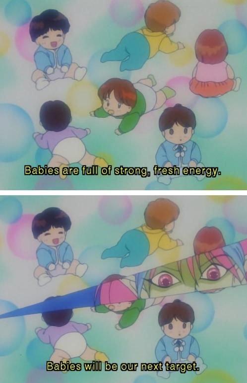 Oh anime. .. I love sailormoon...so many hidden gems! Oh anime I love sailormoon so many hidden gems!