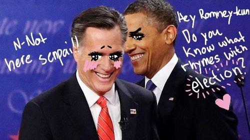 """Oh obama-kun. you silly.. """"Rejection"""" Oh obama-kun you silly """"Rejection"""""""
