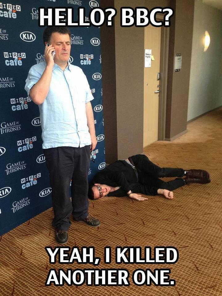 Oh you!. . YEAH, I KILLED Oh you! YEAH I KILLED