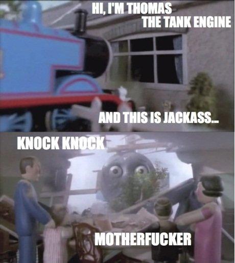 Oh.....Thomas. hope you liked it. mm: min: thomas the Tank Engine