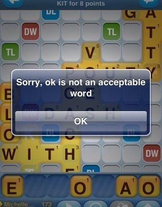Ok. . word ok words