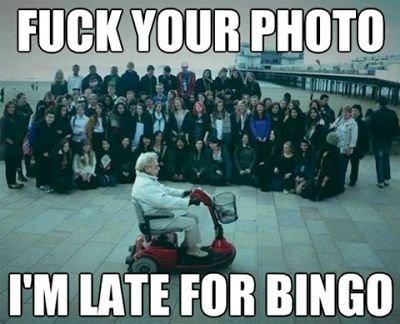 Old People. . I' M HIE Foil BINGO Old People I' M HIE Foil BINGO