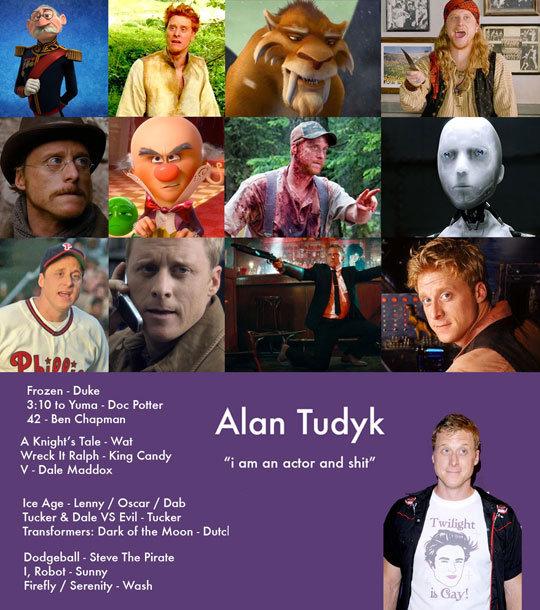 "One Of My Favorite Actors. One Of My Favorite Actors . Frozen - Duke SWO to Yuma . Doe Pa: -liar Ban Chapman Alan ""rudyk A twig ht' s Tale - Wat Wreck If Ralph  funny"
