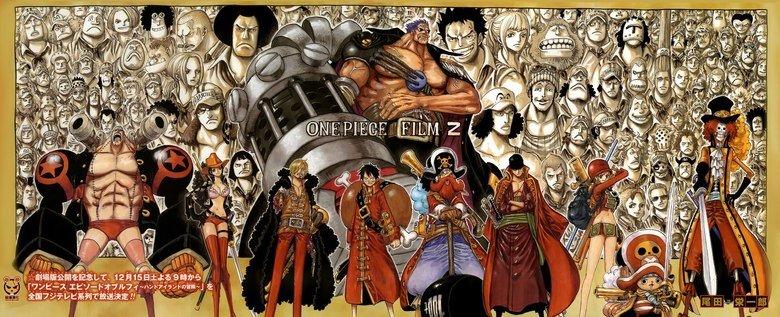One Piece: Z poster. Check out Nico Robin O_o. EIL- one piece z Movie