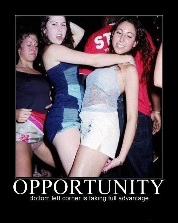 Opportunity. . OPPORUNITY Bottom left corner is taking full advantage. sneaky funny