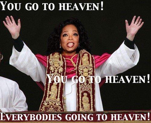 oprah for pope. pope-rah.. poprah? oprah for pope pope-rah poprah?
