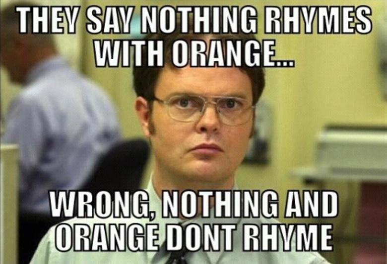 orange you glad. i didnt say banana?.. Door-hinge orange you glad i didnt say banana? Door-hinge