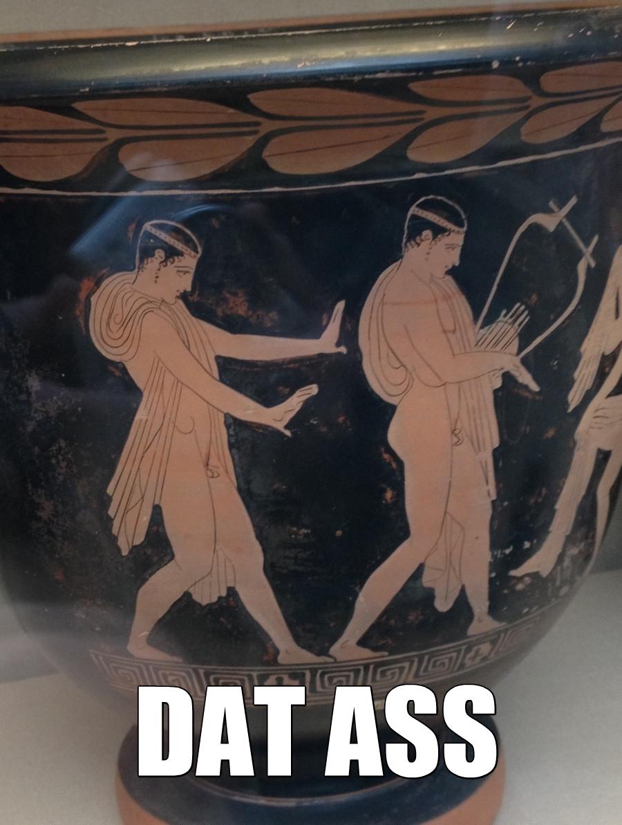 Original Potter Is A Faggot. .. Do he got da booty? ancient greeks DAT ASS original potter faggot