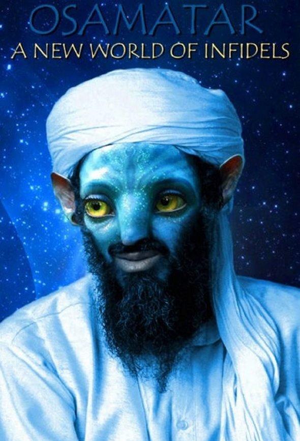OSAMATAR!. Blue Muslims!. osama avatar funny Movie Infidel Islam Bomb beard sexy