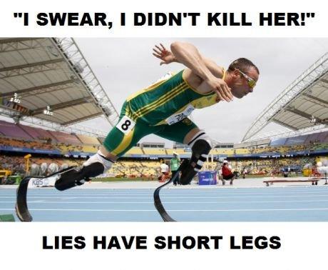 Oscar Pistorius. . Oscar Pistorius