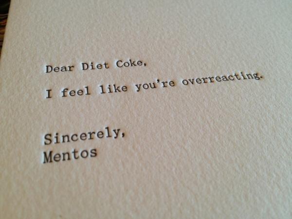 overreacting. XD. overreacting XD