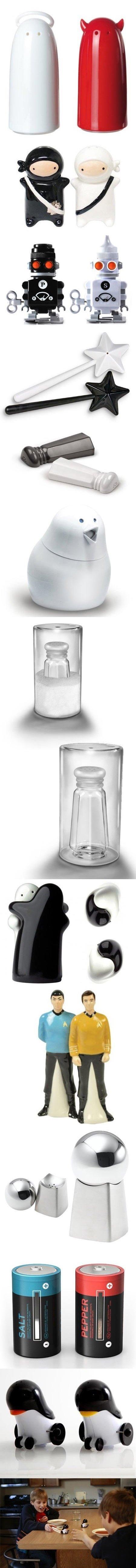 Salt and Pepper Shakers. Yo muh , pass da salt.. Salt and Pepper Shakers Yo muh pass da salt
