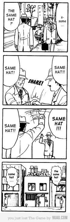 SAME HAT. . SAME HAT