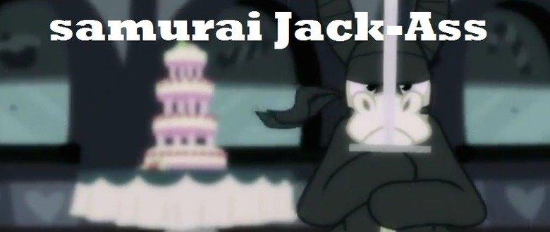 Samurai Jack. the cake wasn't a lie. Samurai Jack the cake wasn't a lie