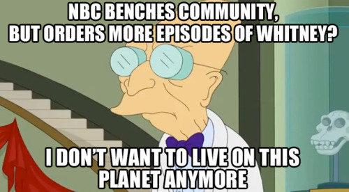 Save Community. Seriously...does anybody like Whitney?!. community whitne