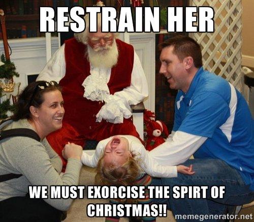 Saving Christmas. Santa knows I've been more than just naughty. Aiaiai' ' / smear BLAH