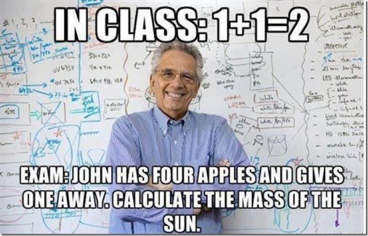scumbag teacher. . Hangs ram T'. answer: false because aliens don't wear purple hats. Math logic scumbag teacher Hangs ram T' answer: false because aliens don't wear purple hats Math logic