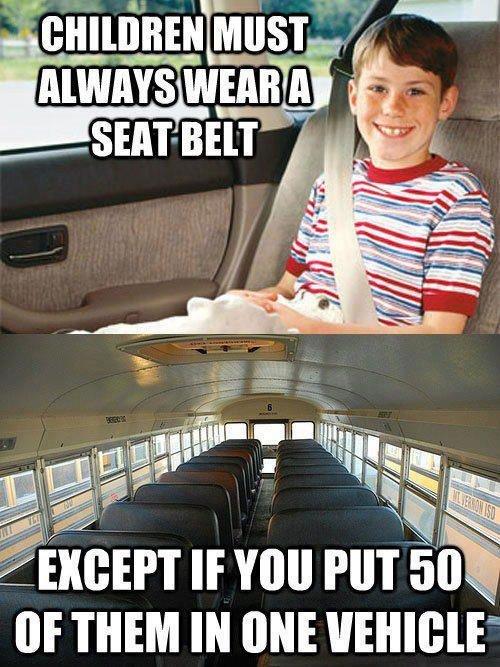 Seatbelts. . nou