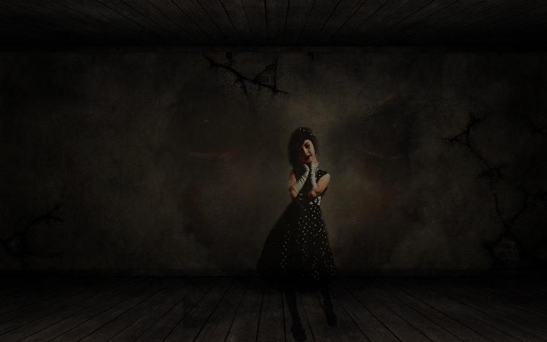 Second photoshop creation. and my second upload... Nice work. dark
