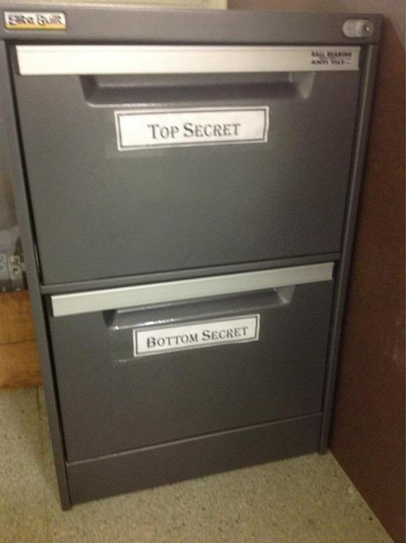 """secrets.... left secret.. No one thinks about """"under secret"""" right Secret"""