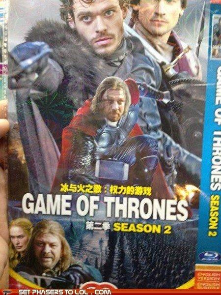 Seems legit. . SET FAI-' increas TD. Same fail Photoshop game of thrones thor