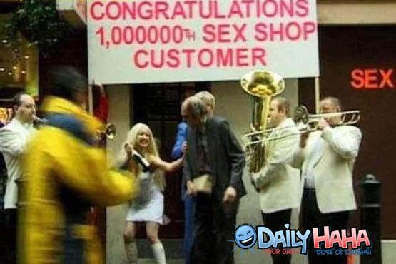 Sex Shop Customer. lol old guy. ill sax SHOP CUSTOMER the game