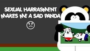 sexual harassment Panda. sexual harassment. sexual harassment Panda