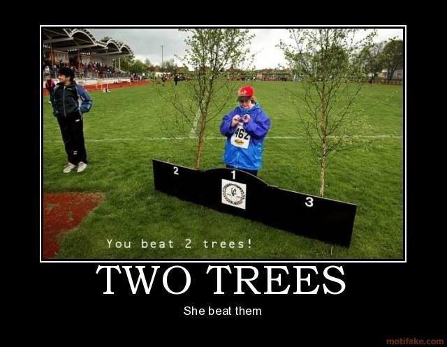 She won. . You beat 2 TTI) TREES She beat them She won You beat 2 TTI) TREES them