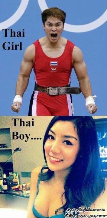 shiiiiiit damn thai people.. mindblown bitches.. In Thailand: everyone has a penis. thai