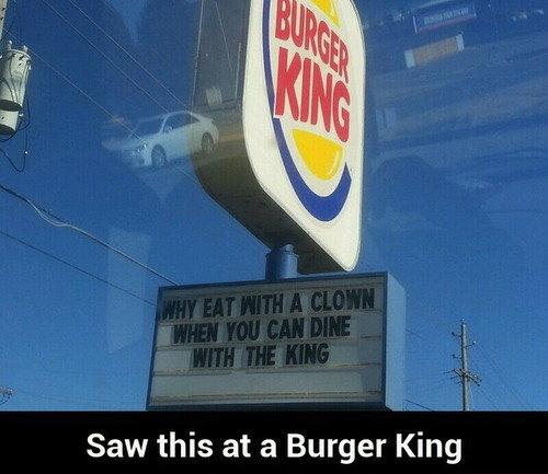 Shots fired. . Saw this at a Burger King Shots fired Saw this at a Burger King