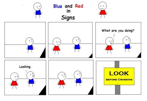 Signs. .. hahahahahahaha hahahahahahaha DIE IN A FIRE Signs hahahahahahaha DIE IN A FIRE
