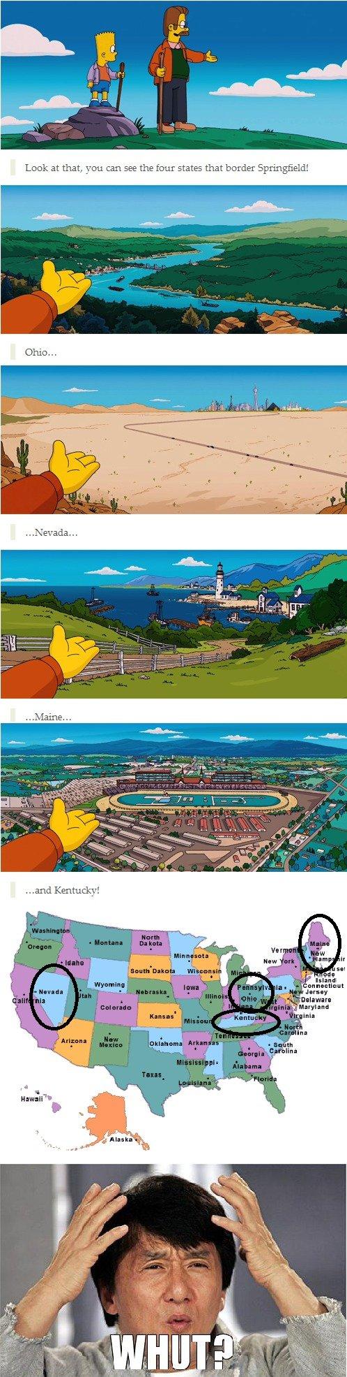 Simpsons Movie. . EHW: -truer!. it's a cartoon, who says it should make sense?