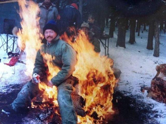 Sir do you give any fucks right now?. Nope.. Give a man a fire and he will be warm for a day. Set a man on fire and he will be warm for the rest of his life... asdasdasdas