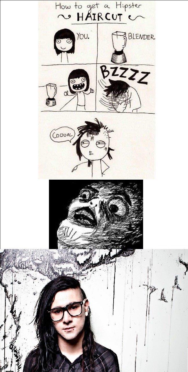 Skrillex. Blender comic isn't mine. The rest is OC. Skrillex Blender comic isn't mine The rest is OC