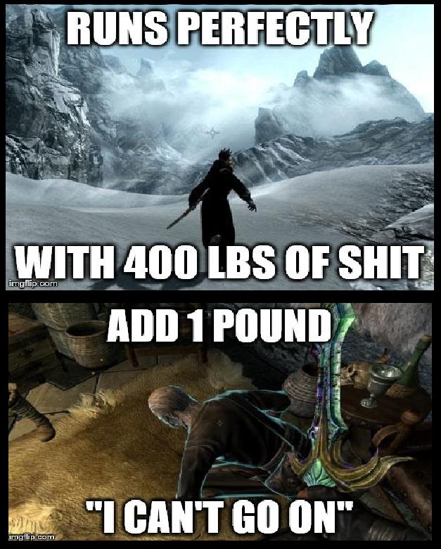 Skyrim. Mystical game logic. bmgf? jpr. caem W _ mi Niggers are bitc