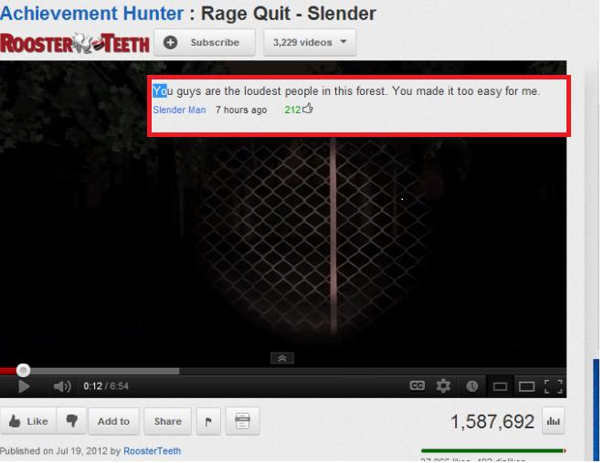 """Slender Man. tags. Hunter ' Rage Quit ' Slender Eu are the lewdest people m imp. 'mu maelu It we easy fer me- mualim a, Jul 19 SEE? Slt """". cr1tikal is best at slender description"""