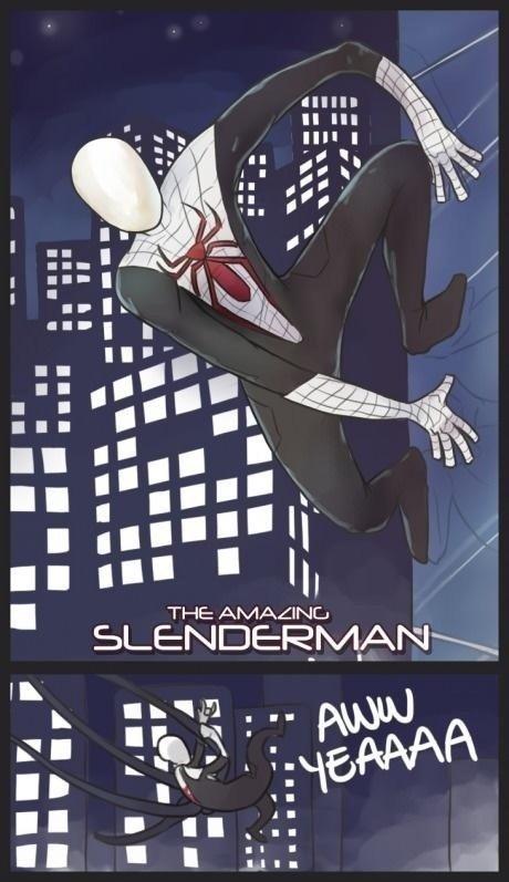 Slenderman, Slenderman, Does whatever.... . Slenderman Does whatever