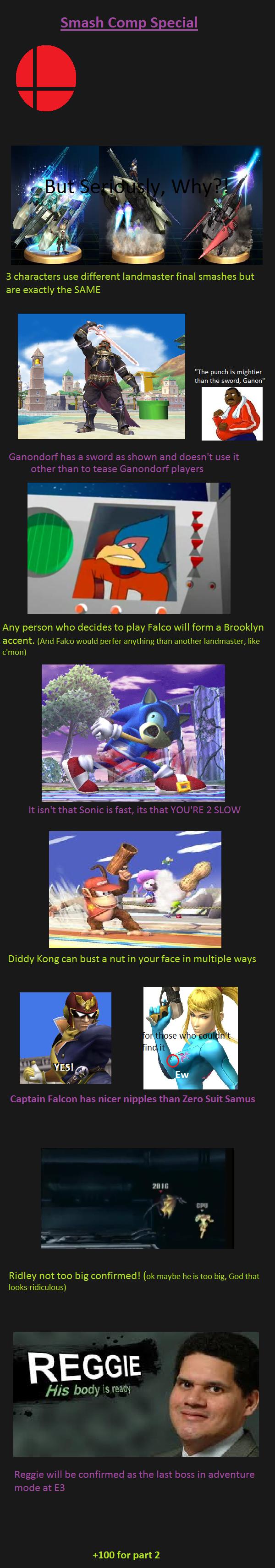 Smash Bros. Comp Special. Comp 1 /Smash+Comp/funny-pictures/5036619/ Comp 2 /Smash+Comp+2/funny-pictures/5037938/. smash bros Nintendo