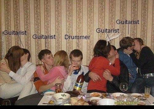 so i heard you were a drummer?. .. I call . so i heard you were a drummer? I call