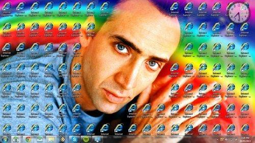 So my mate got hold of my desktop. . So my mate got hold of desktop